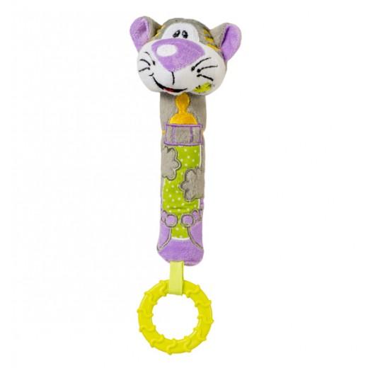 Plyšová hračka s kousátkem BabyOno