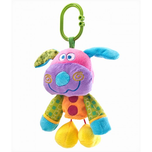 Edukační plyšová hračka Sensillo pejsek v. 23399